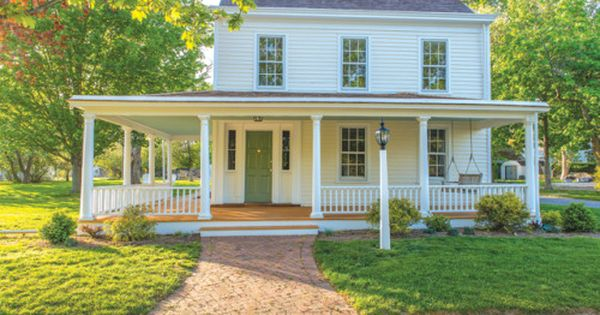 Small Cottage with Wrap Around Porch   Content in a ...