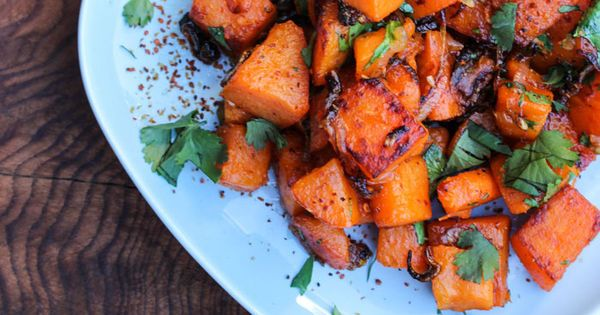 Sautéed Sweet Potatoes with Shallot, Chile and Lime   Recipe