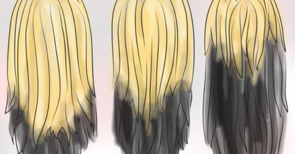 Dye Your Hair Blonde And Black Underneath Brown Blonde Hair