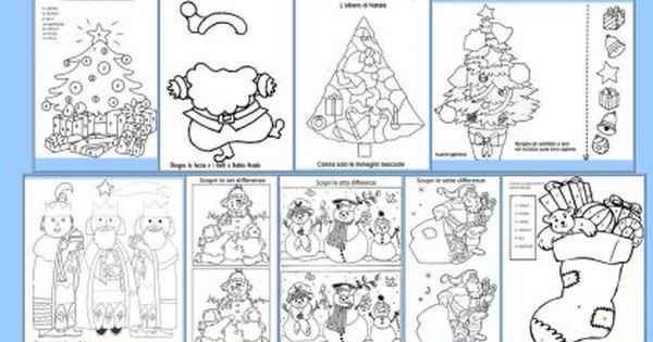 Il natale di maestra gemma in prima pagina lapbook for Schede didattiche natale scuola infanzia