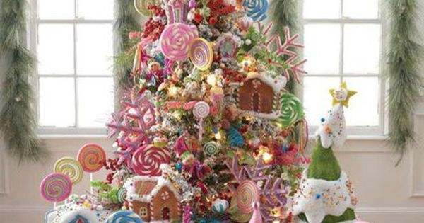 Christmas Tree Idea. Make gingerbread houses using unfinished birdhouses from a craft