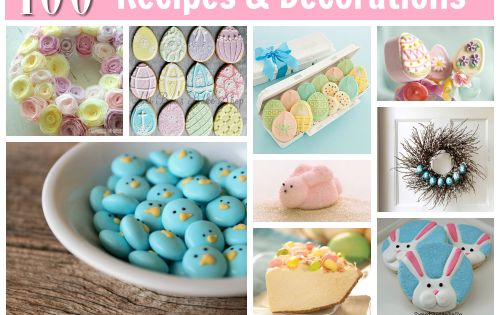 100 Amazing Easter Recipes Crafts Decorations (wow- it's for real, pics and
