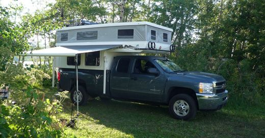 Exploring Canada S Backcountry Pop Up Truck Campers Pickup Trucks Camping Pickup Camper