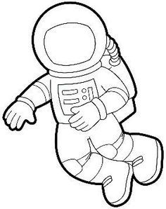 photograph about Astronaut Printable named Astronaut Printable Templates young children Location preschool