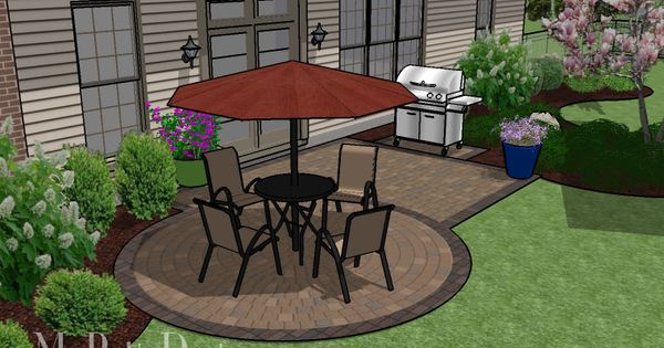 Small patio on a budget patio designs and ideas this for Small balcony ideas on a budget