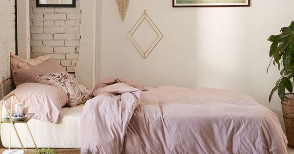 T Shirt Jersey Duvet Cover Fringes Exposed Brick And