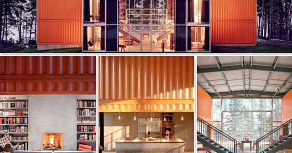 Architecture | Shipping Container House