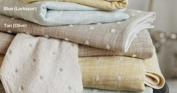Fabrics & Linens: Kusaki Puff Towels from VivaTerra : Remodelista