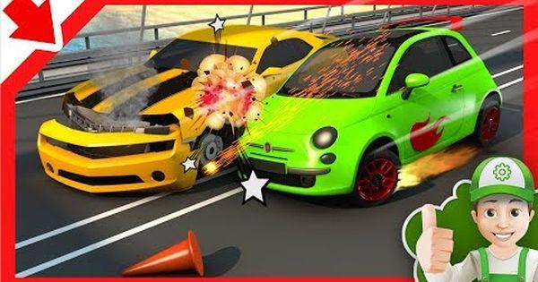 Semaforo Dibujos De Coches Aprender Los Colores En Espanol Dibujos Animados Maquina Para Ninos Youtube Toy Car Car Toys