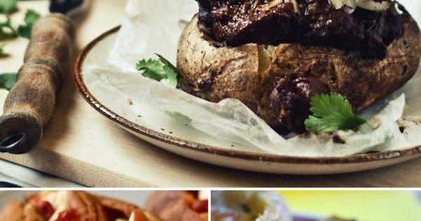 23 Amazing Ways To Eat A Baked Potato For Dinner...mmmm potato....
