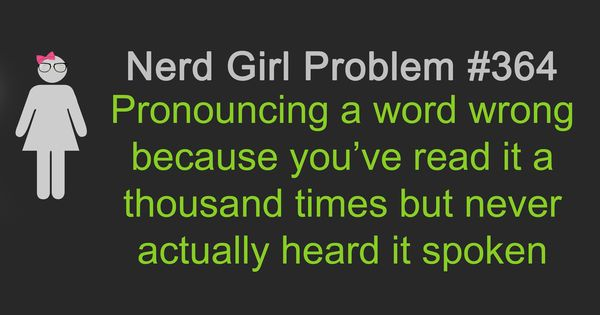 Nerd Girl Problems- I had this problem with Petra from Hunger Games