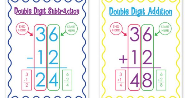 The Teacher Wife is my favorite blog! Check out these double digit