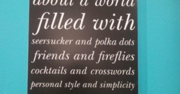 Preppy & cute quote