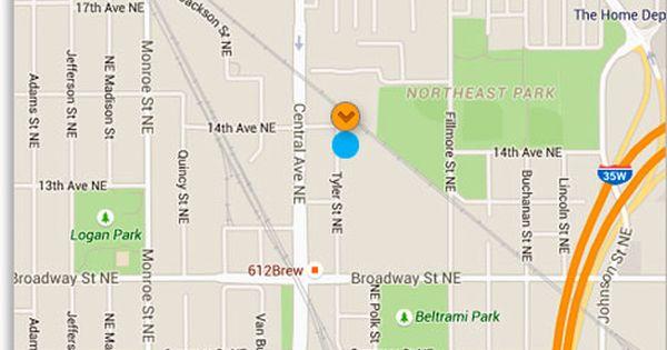 Blu Dot Minneapolis Map Furniture
