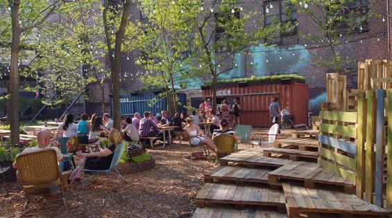 Pop Up Beer Garden Philadelphia Usa Groundswell Design