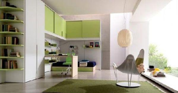 Dise o de habitaciones peque as para j venes para m s - Diseno de habitaciones pequenas ...
