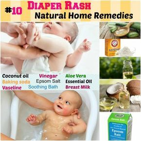 10 Home Remedies For Diaper Rash Protects And Nourishes Skin 1 Coconut Oil 2 Baking Soda 3 Vinegar 4 Vasel Coconut Oil Diaper Rash Diaper Rash Soothing Baby