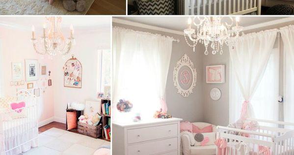 decoracion de habitacion para ni a recien nacida nursery
