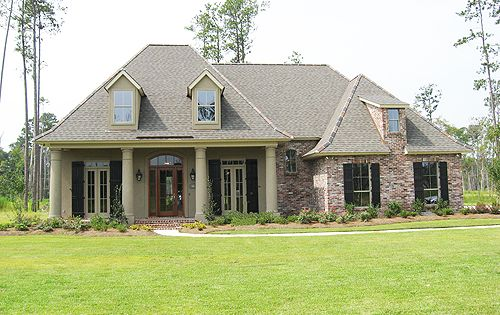 South louisiana acadian style homes bing images for Acadian home builders