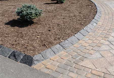 Slideshow Image Landscape Products Front Yard Landscaping Driveway Landscaping