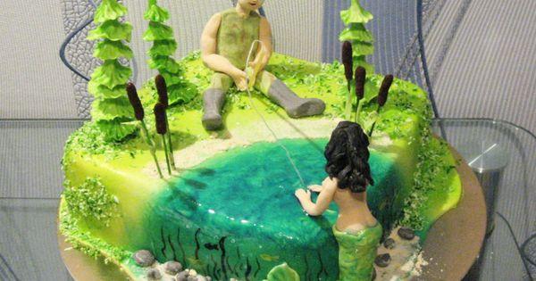 Торт рыбаку, фото