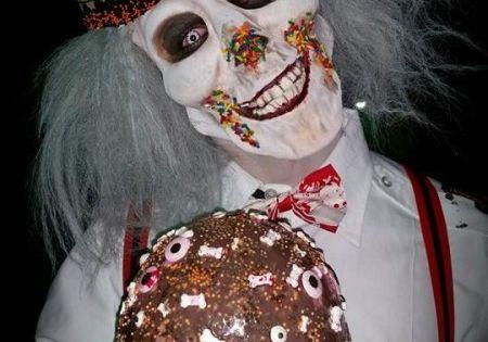 Handmade Super Creepy Ice Cream Man and Candy Clown Couple ...
