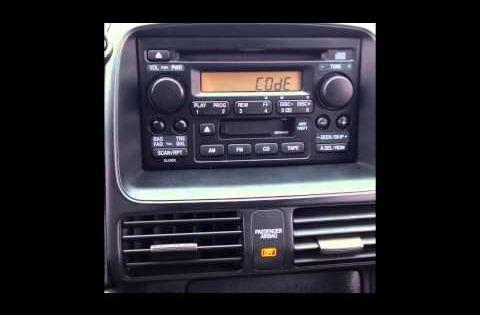 Stereo Reset Code For 2006 Honda Cr V Locked Radio Youtube Honda Crv Radio Honda Cr