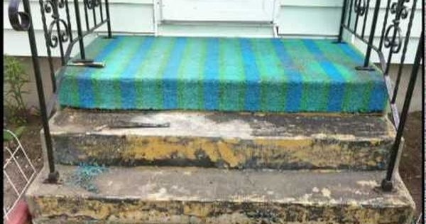 You Indoor Outdoor Carpet Green, How To Adhere Outdoor Carpet Concrete