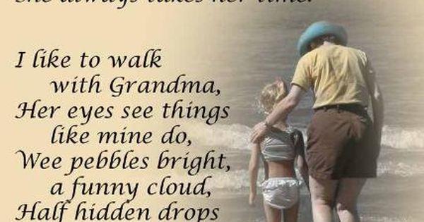 Grandma gift poem