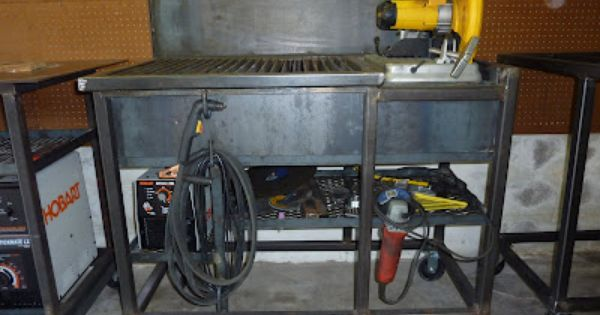 Jim Aderhold S Welding And Metalworking Hobby Chop Saw