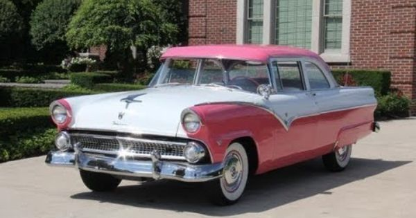 1955 Ford Fairlane Custom Classic Muscle Car For Sale In Mi Vanguard Motor Sales Ford 272 Engine V8 Ford Fairlane Classic Cars Muscle Fairlane
