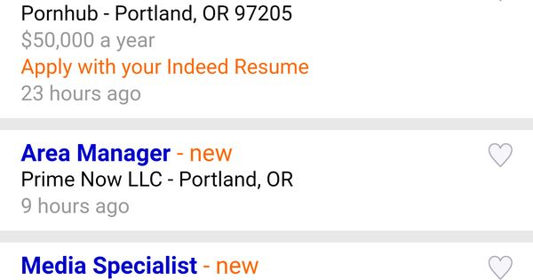Found this pornstar ad during my job search today Pets Funny - indeed resume upload