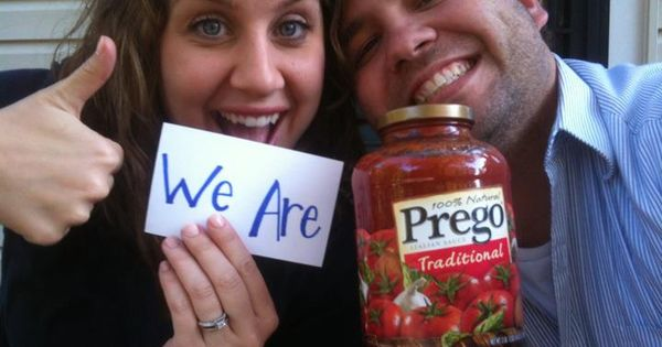 Pregnancy Announcement. Cute idea for one day