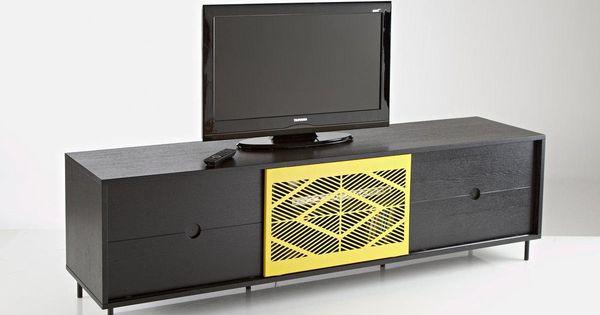 Le banc tv ou buffet fran ois mangeol pour bensimon prix for La redoute bensimon meubles