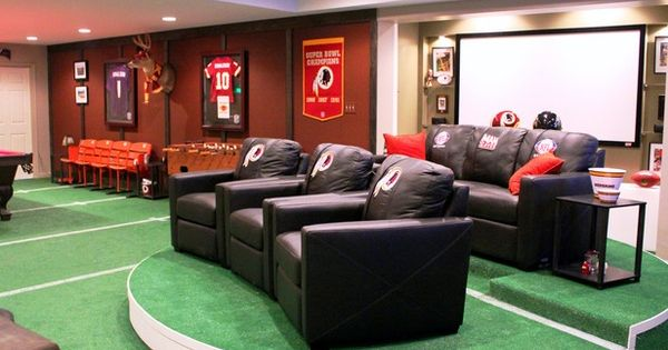 Man Cave Tv Show Australia : Man caves nfl fan cave tv shows diy network for