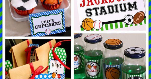 Sport Birthday ideas