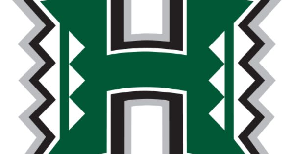 Uh Hawaii Warriors Football Team Logo University Of