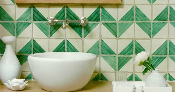hand painted tile patterns