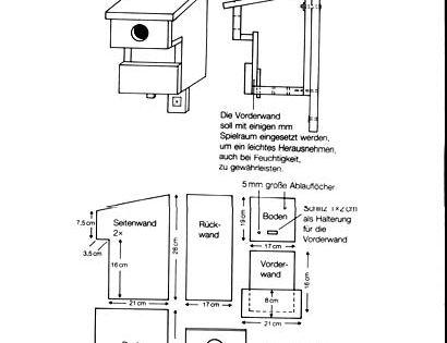 bauplan f r h hlen bewohnende v gel unsere meisen sind die. Black Bedroom Furniture Sets. Home Design Ideas