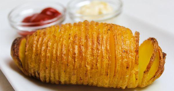 Fächerkartoffeln | 1a Videos vegane Rezepte | Pinterest ...