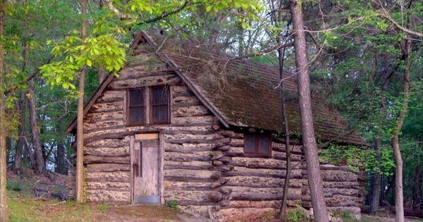 Old Log Cabin In The Forest Log Homes Cabin Log Cabin Kits