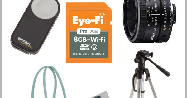 LOVE my Eye Fi!!!!.......8 Must Have Camera Accessories-- find the best 'must