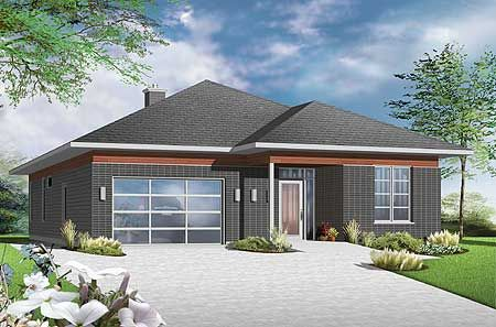 Plan 22382dr Accessible Barrier Free House Plan In 2021 Free House Plans Accessible House Plans Accessible House