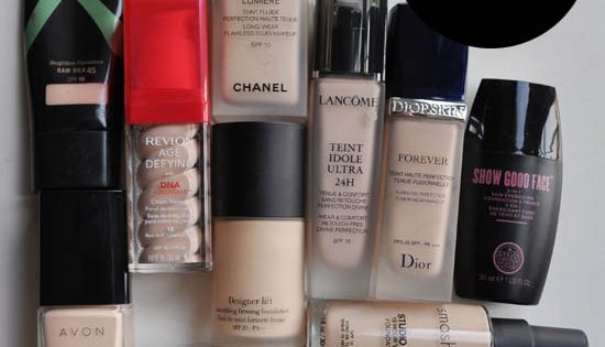 10 pale foundations for Irish & Celtic Skin tones. From Jan 2012