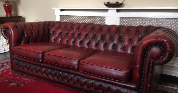 seater oxblood red leather chesterfield sofa for sale my dream