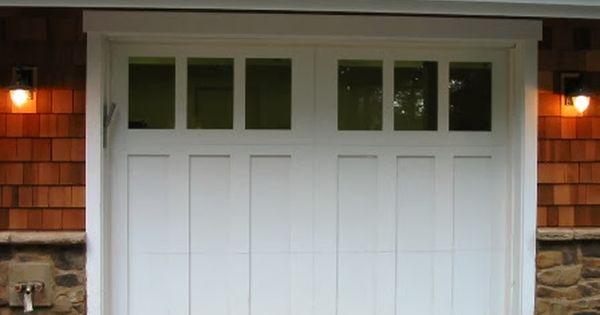 Big News About Our Little House Garage Door Styles Carriage House Garage Doors Craftsman Garage Door