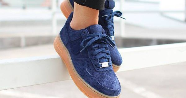 Nike Air Force One Grise Suede