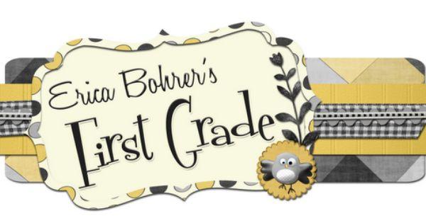 First Grade Blog also Great Math Center Ideas
