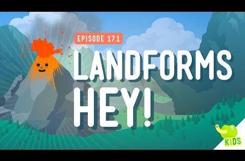 landforms hey crash course kids 17 1 youtube science pinterest videos this video. Black Bedroom Furniture Sets. Home Design Ideas