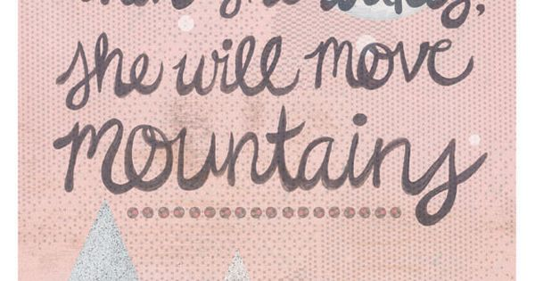 Cute quote for a little girl's nursery or bedroom